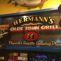 Photo taken at Hermann's Olde Town Grille by Dan M. on 3/29/2014