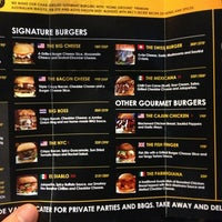 Photo taken at BAngkok Burger Company by Peter G. on 7/24/2013