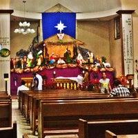 Photo taken at San Jose De Trozo Parish by Joyzxie F. on 12/30/2012