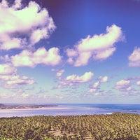 Foto tirada no(a) Mirante da Praia do Gunga por Alzir L. em 6/1/2013