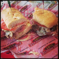 Photo taken at Firehouse Subs by Mary S. on 8/30/2013