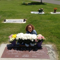 Photo taken at Provo City Cemetery by Pj V. on 5/26/2013