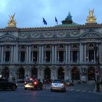 Photo taken at Garnier Opera by Yin-Ho C. on 5/11/2013