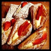 Photo taken at Cream Pan Bakery & Cafe by Dar C. on 1/20/2013