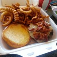 Photo taken at Monsoon Burger by Bianca L. on 7/19/2013