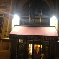 Photo taken at Hotel Cosmopolita Rome by . on 6/12/2014
