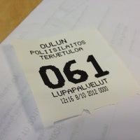 Photo taken at Oulun poliisilaitos by Elina K. on 10/8/2012