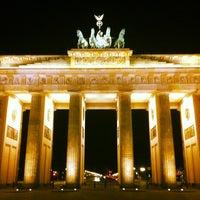 Photo taken at Brandenburg Gate by Felix D. on 5/8/2013