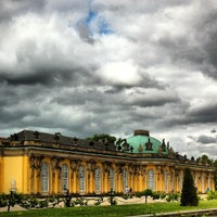 Photo taken at Schloss Sanssouci by Felix D. on 7/6/2013