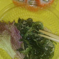 Photo taken at Qombo sushi by Анита Б. on 2/11/2014