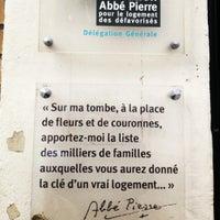 Photo taken at Fondation Abbé Pierre by Nes O. on 10/24/2012