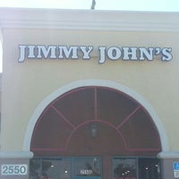 Photo taken at Jimmy John's by Eddie L. on 11/6/2012