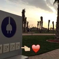 Photo taken at Al Hamra District Walk by Abeer on 3/8/2016