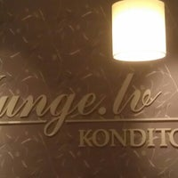 Photo taken at Junge.lv konditoreja by Viktors G. on 1/27/2013