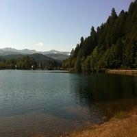 Photo taken at Leaburg Lake by Paul on 9/13/2013