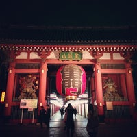 Photo taken at Kaminarimon Gate by tetsuya on 3/24/2013