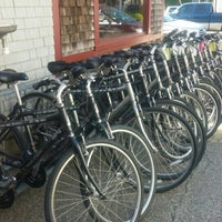 Photo taken at Acadia Bike Rentals by Todd Z. on 6/26/2015