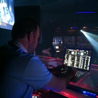 Photo taken at Andrews Upstairs DJ Booth by Aileen L. on 5/12/2013