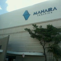 Photo taken at Manaíra Shopping by Charles G. on 1/24/2013