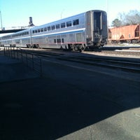 Photo taken at McComb Amtrak Station by Pam E. on 3/3/2013