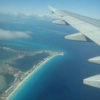 Photo taken at Cancún International Airport (CUN) by Mauricio D. on 3/3/2013