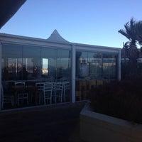 Photo taken at Blowfish Restaurant by Gwen S. on 2/14/2017