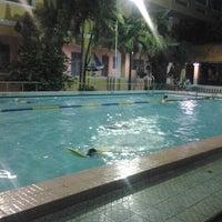 Photo taken at minh khai swimming pool by Trung P. on 11/21/2012