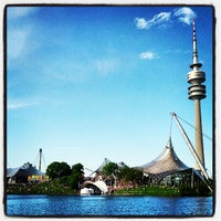Photo taken at Olympiapark by Michael V. on 5/18/2013