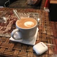 Photo taken at Rockn' Joe Coffeehouse & Bistro by Mike S. on 10/29/2017