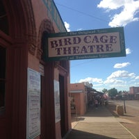 Photo taken at The Original Bird Cage Theatre Of Tombstone by Kate S. on 9/13/2013
