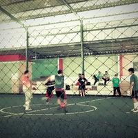 Photo taken at Kene Wae Futsal Center by Hanan H. on 10/18/2013