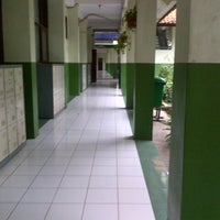 Photo taken at SMAN 1 Bekasi by Delaneira R. on 2/2/2014