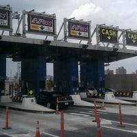 Photo taken at Robert F. Kennedy Bridge (Triborough Bridge) by Cynthia T. on 10/6/2012