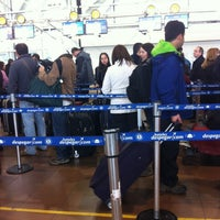 Photo taken at LATAM Priority Check-in by Constanza D. on 6/16/2013