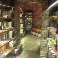 Photo taken at Minoa Bookstore & Café by Birim A. on 4/26/2017