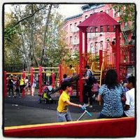 Photo taken at Columbus Park by Benjamin C. on 9/22/2012