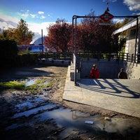Photo taken at Metro Ciudad Universitaria by Veo Arte en todas pArtes on 11/12/2014