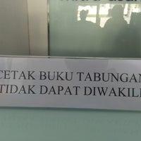 Photo taken at Bank Mandiri Kendari by Ilham M. on 11/26/2014