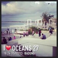 Photo taken at Oceans27 Beach Club & Grill by agus a. on 2/15/2013