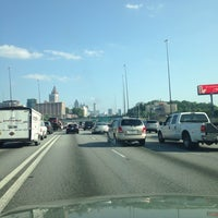 Photo taken at I-75 & I-85 by Lawrence W. on 5/22/2014