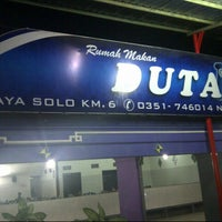 Photo taken at Rumah Makan Duta 1 by Franky I. on 10/6/2012