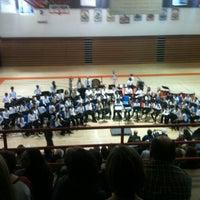 Photo taken at Mahomet-Seymour High School by Timothy J. on 11/16/2012