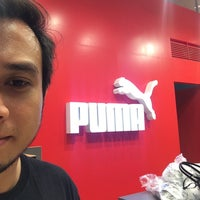 Photo taken at Puma by Shahril S. on 10/7/2014
