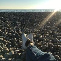 Снимок сделан в Пляж Олимпийского парка пользователем Ekaterina Z. 11/30/2017