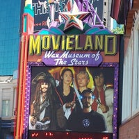 Photo taken at Movieland Wax Museum of the Stars by Jo on 7/24/2014