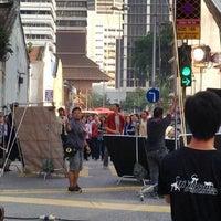 Photo taken at Jalan Hang Lekiu by Agnes V. on 7/28/2013