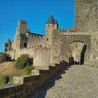 Photo taken at Château Comtal de la Cité de Carcassonne by Miguel R. on 9/3/2013