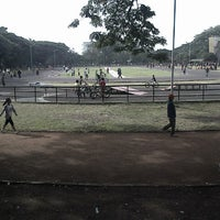 Photo taken at Saparua Running Track by Bubun H. on 3/29/2014