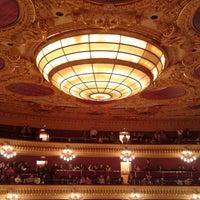 3/26/2013 tarihinde Florenciaziyaretçi tarafından Liceu Opera Barcelona'de çekilen fotoğraf