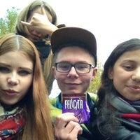 Photo taken at СПбГЭУ by Angelina . on 10/10/2013
